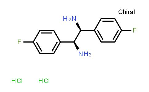 1052707-11-5 | (1S,2S)-1,2-Bis(4-fluorophenyl)ethylenediaMine dihydrochloride