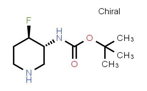 1052713-47-9 | tert-Butyl ((3R,4R)-4-fluoropiperidin-3-yl)carbamate