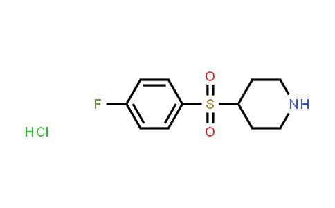 105283-71-4 | 4-[(4-Fluorophenyl)sulfonyl]piperidine hydrochloride