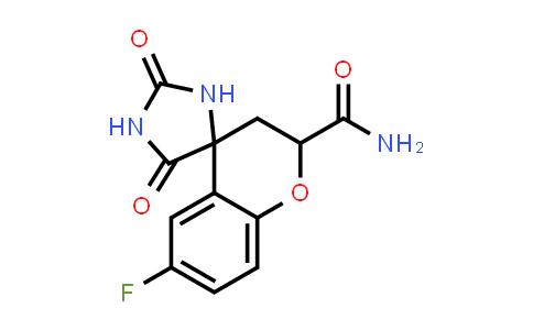 105300-43-4 | 6-Fluoro-2',5'-dioxospiro[chroman-4,4'-imidazolidine]-2-carboxamide
