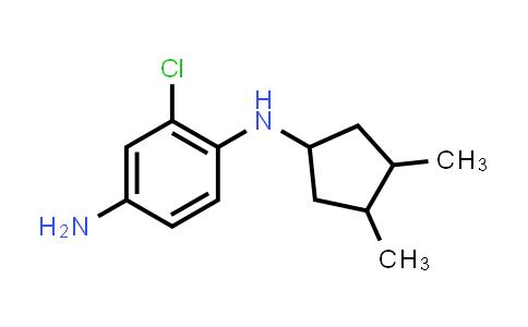 1053083-72-9 | 2-Chloro-N1-(3,4-dimethylcyclopentyl)benzene-1,4-diamine