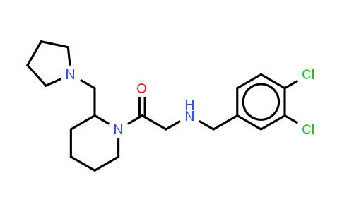 1053179-51-3 | Ethanone, 2-[(3,4-dichlorophenyl)methylamino]-1-[2-(1-pyrrolidinylmethyl)-1-piperidinyl]-