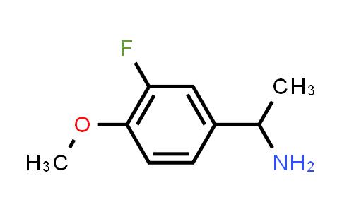105321-49-1 | 1-(3-Fluoro-4-methoxyphenyl)ethan-1-amine