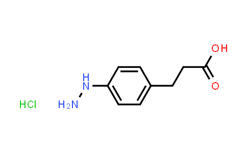 105323-52-2 | 3-(4-Hydrazinylphenyl)propanoic acid hydrochloride