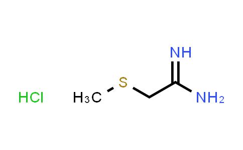 105324-22-9   2-(Methylsulfanyl)ethanimidamide hydrochloride
