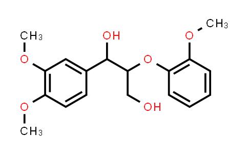 10535-17-8 | 1-(3,4-Dimethoxyphenyl)-2-(2-methoxyphenoxy)-1,3-propanediol