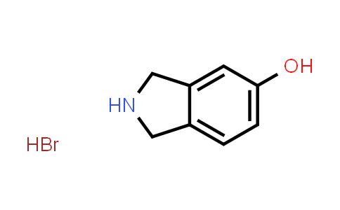 105358-58-5 | Isoindolin-5-ol hydrobromide