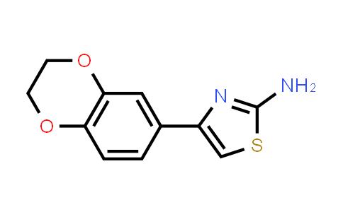 105362-06-9 | 4-(2,3-Dihydro-benzo[1,4]dioxin-6-yl)-thiazol-2-ylamine