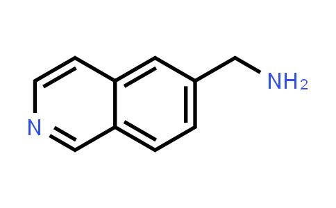 1053655-94-9 | Isoquinolin-6-ylmethanamine