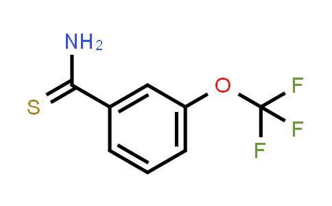 1053656-09-9 | 3-(Trifluoromethoxy)benzothioamide