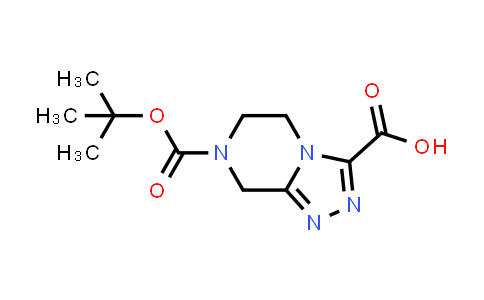 1053656-19-1 | 7-(tert-Butoxycarbonyl)-5,6,7,8-tetrahydro-[1,2,4]triazolo[4,3-a]pyrazine-3-carboxylic acid
