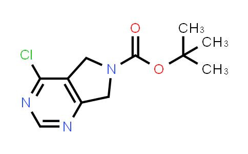 1053657-15-0 | tert-Butyl 4-chloro-5H-pyrrolo[3,4-d]pyrimidine-6(7H)-carboxylate