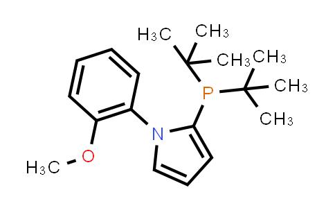 1053658-91-5 | 2-(di-tert-Butylphosphino)-1-(2-methoxyphenyl)-1H-pyrrole