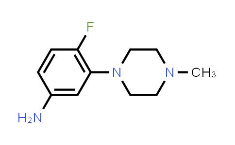 105377-06-8   4-Fluoro-3-(4-methylpiperazin-1-yl)aniline