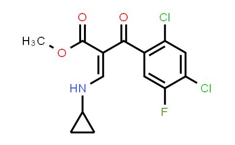 105392-26-5 | Methyl 3-(cyclopropylamino)-2-(2,4-dichloro-5-fluorobenzoyl)acrylate