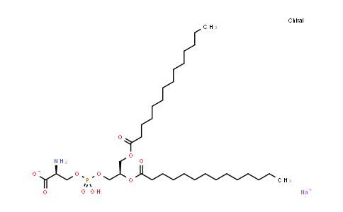 105405-50-3   1,2-Dimyristoyl-sn-glycero-3-phospho-L-serine (sodium salt)