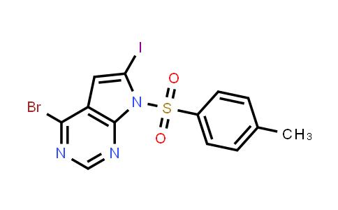 1055045-75-4 | 4-Bromo-6-iodo-7-tosyl-7H-pyrrolo[2,3-d]pyrimidine