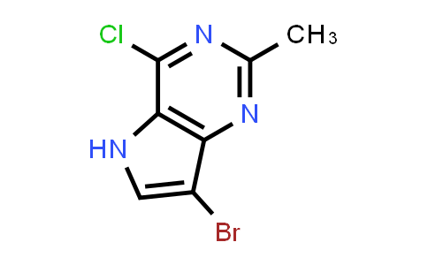 1055057-39-0   7-Bromo-4-chloro-2-methyl-5H-pyrrolo[3,2-d]pyrimidine