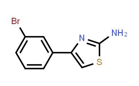 105512-81-0 | 4-(3-Bromo-phenyl)-thiazol-2-ylamine