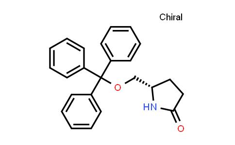 105526-85-0   (S)-5-((Trityloxy)methyl)pyrrolidin-2-one