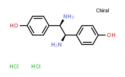 1055301-14-8   4,4'-((1R,2R)-1,2-Diaminoethane-1,2-diyl)diphenol dihydrochloride