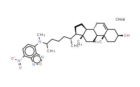 105539-27-3   (3β)-25-[Methyl(7-nitro-2,1,3-benzoxadiazol-4-yl)amino]-27-norcholest-5-en-3-ol