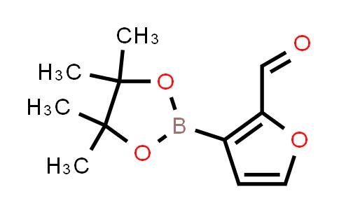 1055881-23-6 | 3-(4,4,5,5-Tetramethyl-1,3,2-dioxaborolan-2-yl)furan-2-carbaldehyde