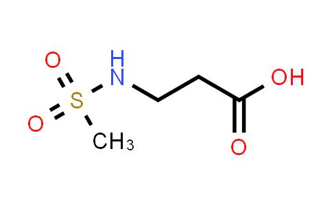 105611-92-5   3-Methanesulfonamidopropanoic acid