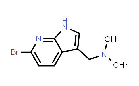 1056135-40-0 | 1H-Pyrrolo[2,3-b]pyridine-3-methanamine, 6-bromo-N,N-dimethyl-