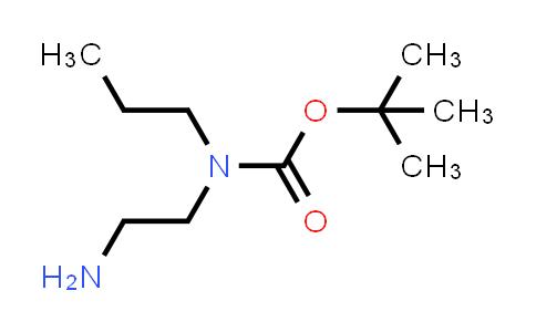 105628-64-6 | tert-Butyl (2-aminoethyl)(propyl)carbamate