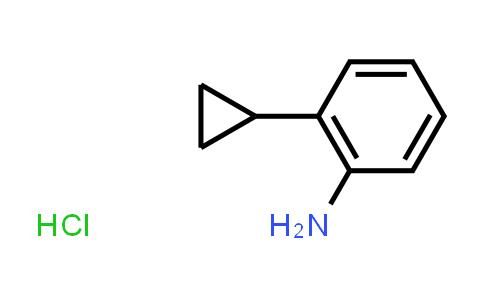 1056454-83-1 | 2-Cyclopropylaniline hydrochloride