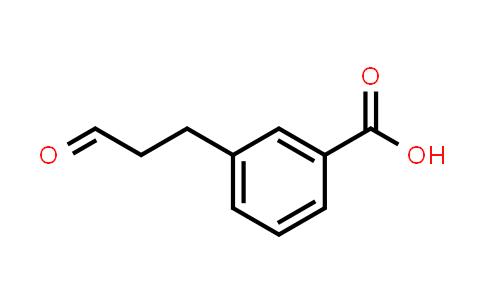 105650-38-2 | Benzoic acid, 3-(3-oxopropyl)-