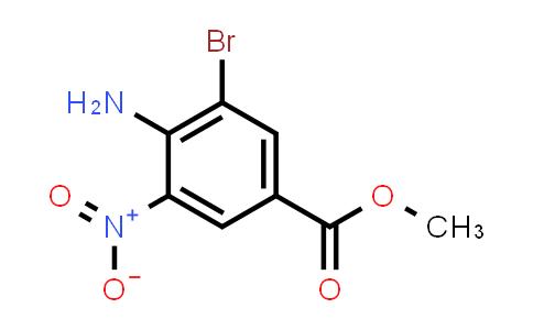 105655-17-2 | Methyl 4-amino-3-bromo-5-nitrobenzoate