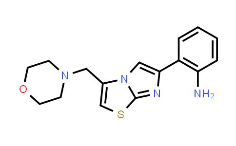 1056562-54-9 | 2-(3-(Morpholinomethyl)imidazo[2,1-b]thiazol-6-yl)aniline