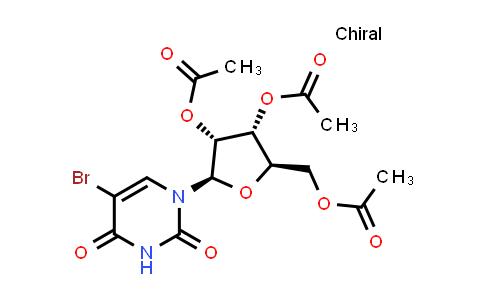 105659-32-3   (2R,3R,4R,5R)-2-(Acetoxymethyl)-5-(5-bromo-2,4-dioxo-3,4-dihydropyrimidin-1(2H)-yl)tetrahydrofuran-3,4-diyl diacetate