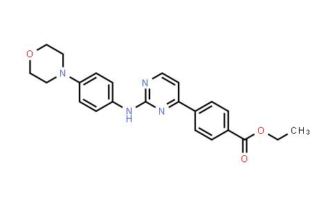 1056634-62-8   Ethyl 4-(2-(4-morpholinophenylamino)pyrimidin-4-yl)benzoate