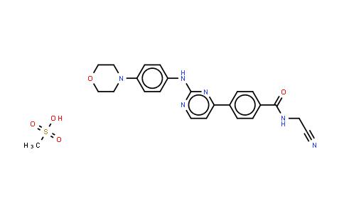1056636-07-7   Momelotinib Mesylate