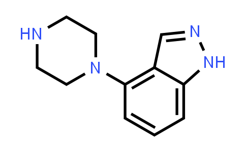 105684-53-5 | 4-(Piperazin-1-yl)-1H-indazole