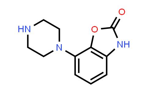 105685-26-5 | 2(3H)-Benzoxazolone, 7-(1-piperazinyl)-