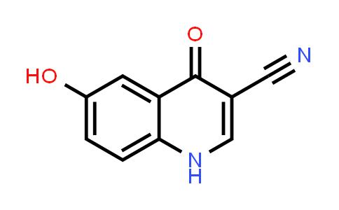 1056941-91-3 | 3-Quinolinecarbonitrile, 1,4-dihydro-6-hydroxy-4-oxo-