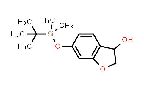 1056942-29-0   3-Benzofuranol, 6-[[(1,1-dimethylethyl)dimethylsilyl]oxy]-2,3-dihydro-