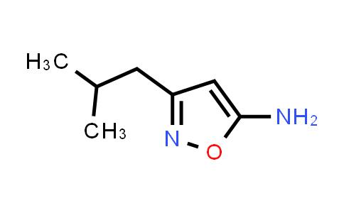 1057064-36-4 | 3-Isobutylisoxazol-5-amine
