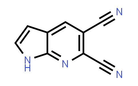 1057077-52-7 | 1H-Pyrrolo[2,3-b]pyridine-5,6-dicarbonitrile