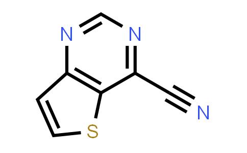 1057249-33-8   Thieno[3,2-d]pyrimidine-4-carbonitrile