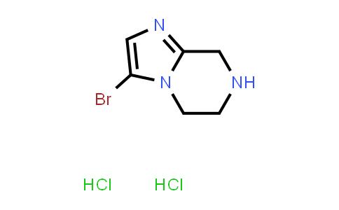 1057338-30-3   3-Bromo-5H,6H,7H,8H-imidazo[1,2-a]pyrazine dihydrochloride
