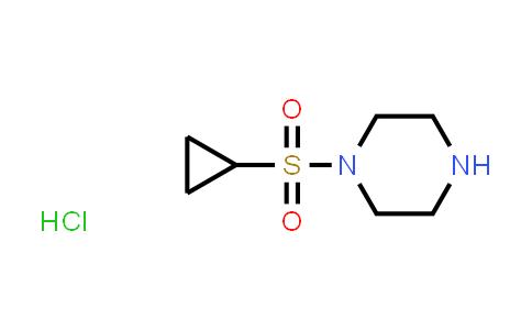 1057385-13-3 | 1-(Cyclopropylsulfonyl)piperazine hydrochloride