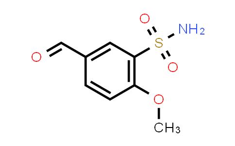 105764-07-6   5-Formyl-2-methoxybenzenesulfonamide