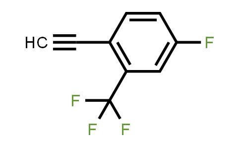 1057670-05-9   1-Ethynyl-4-fluoro-2-(trifluoromethyl)benzene