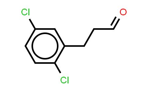 1057670-83-3 | Benzenepropanal, 2,5-dichloro- (or 3-(2,5-Dichlorophenyl)propionaldehyde)