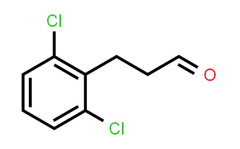 1057670-91-3   Benzenepropanal, 2,6-dichloro-